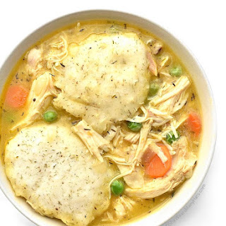 Easy Chicken and Dumplings.