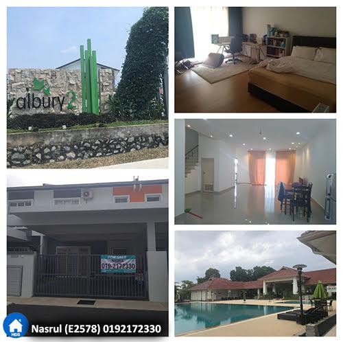Teres 2 tingkat di Albury2 @ Mahkota Hills, Lenggeng N.Sembilan