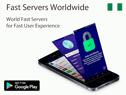 Nigeria VPN free Unlimited Screenshot