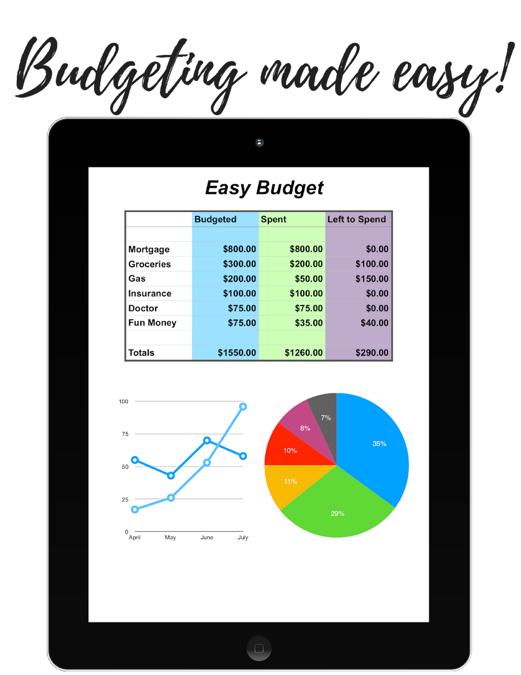 download your free easy budget spreadsheet