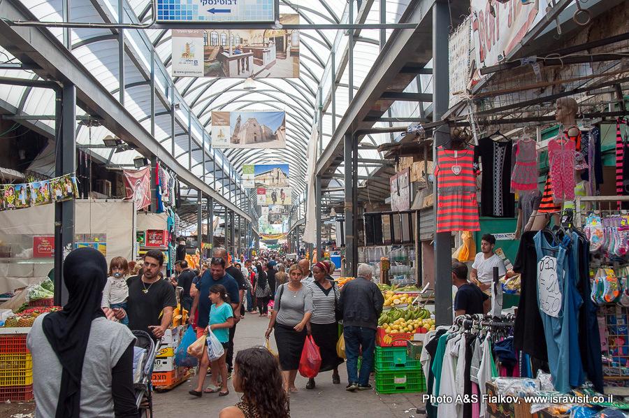 Рынок в Рамле