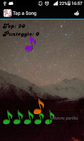 Screenshot of Tapso - Tap a song