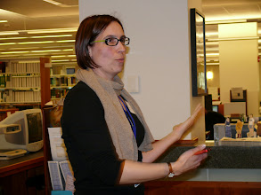 Photo: Tour of Beatley Library and Archival Exhibit with Allison Estell