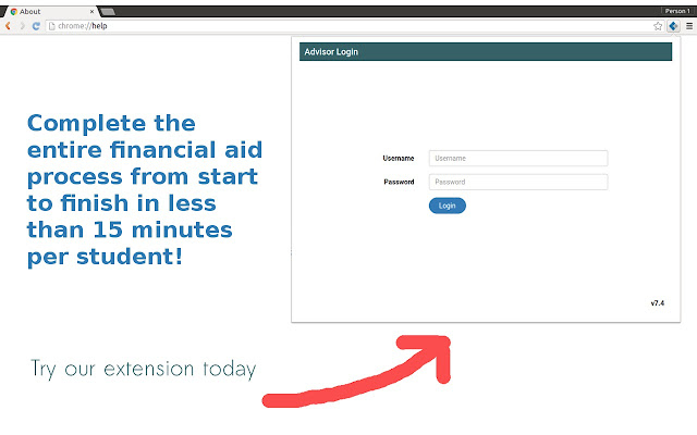Financial Aid Filing Software