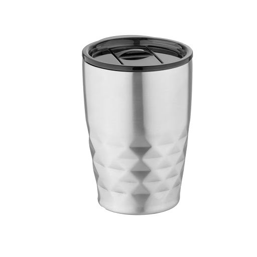 Geo thermal insulated tumbler, solid black
