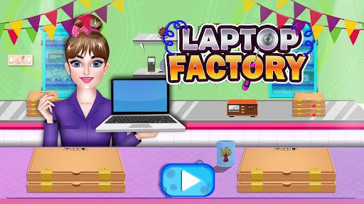 Laptop Factory: Computer Builder & Maker Games 1.7 screenshots 1