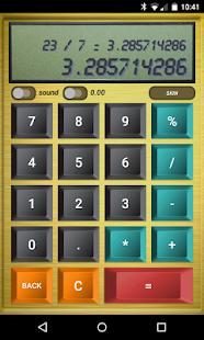 Classic Calculator - Skinnable - náhled