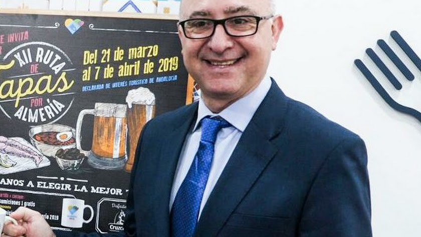 Diego García, presidente de los hosteleros de Almería
