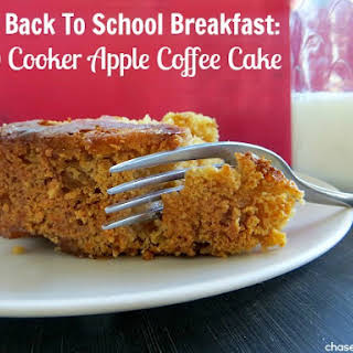 Slow Cooker Apple Coffee Cake.