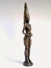 """Photo: """"Kleine Priesterin"""", 2009 250,00, Höhe23cm"""