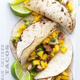 Caribbean Chicken Tacos