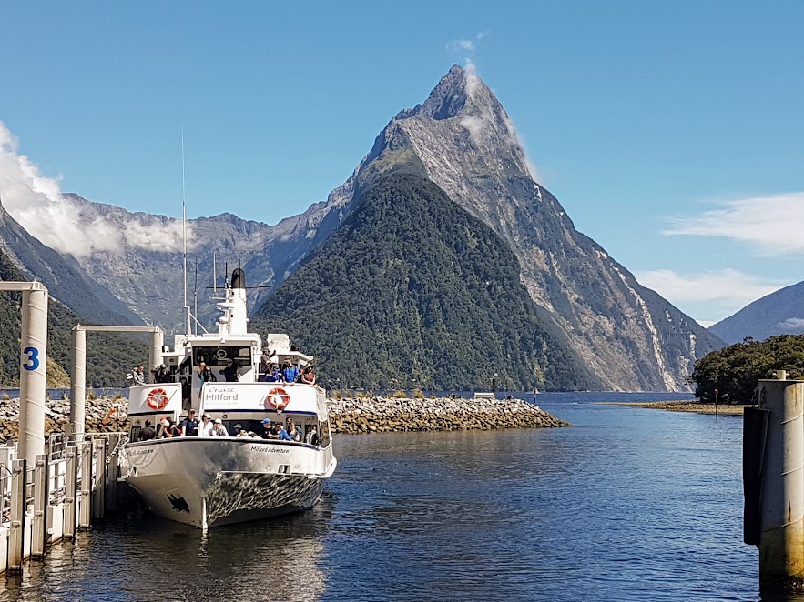 Milford Sound on a perfect day