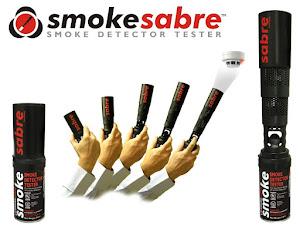 Handhabung des Smoke Sabre Rauchmelder Prüfgerät