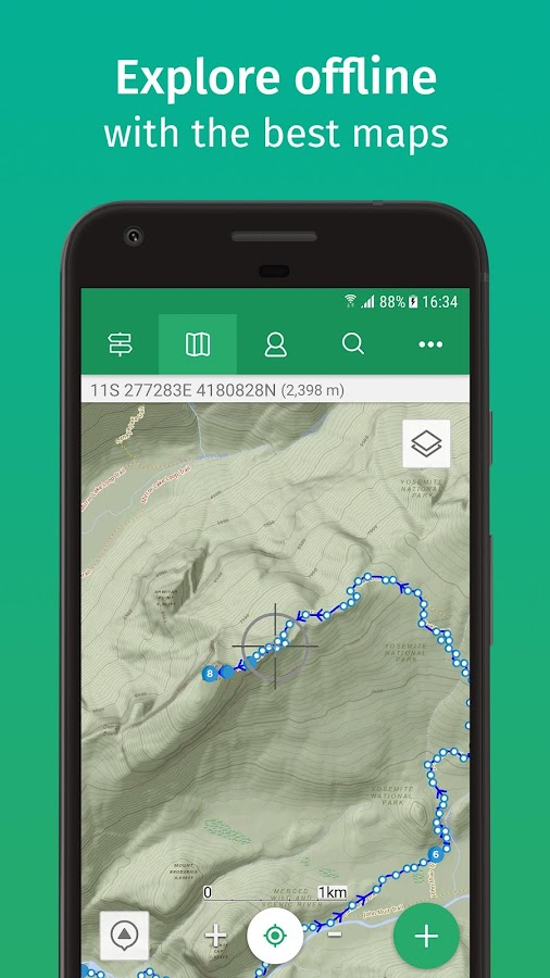 ViewRanger - Hiking Trails & Bike Rides- screenshot