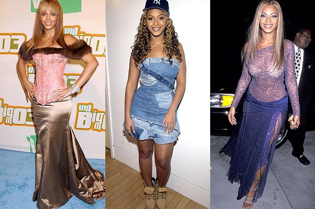 Beyonce S Style Evolution Glam Australia