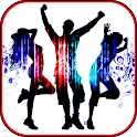 Dance choreography steps. Learn to dance icon