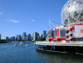 Photo: False Creek and the downtown skyline.