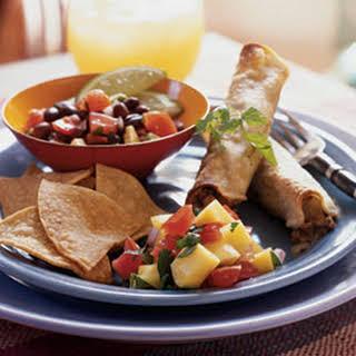 Vegetarian Taquitos.