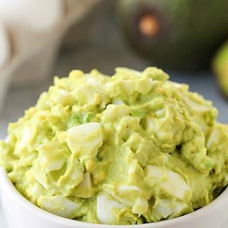 Mayo-Free Avocado Egg Salad Recipe
