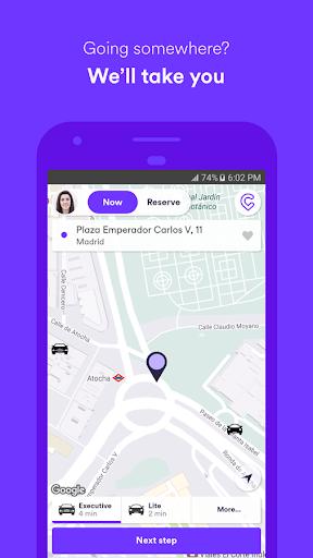 Cabify - Enjoy the ride  screenshots 1