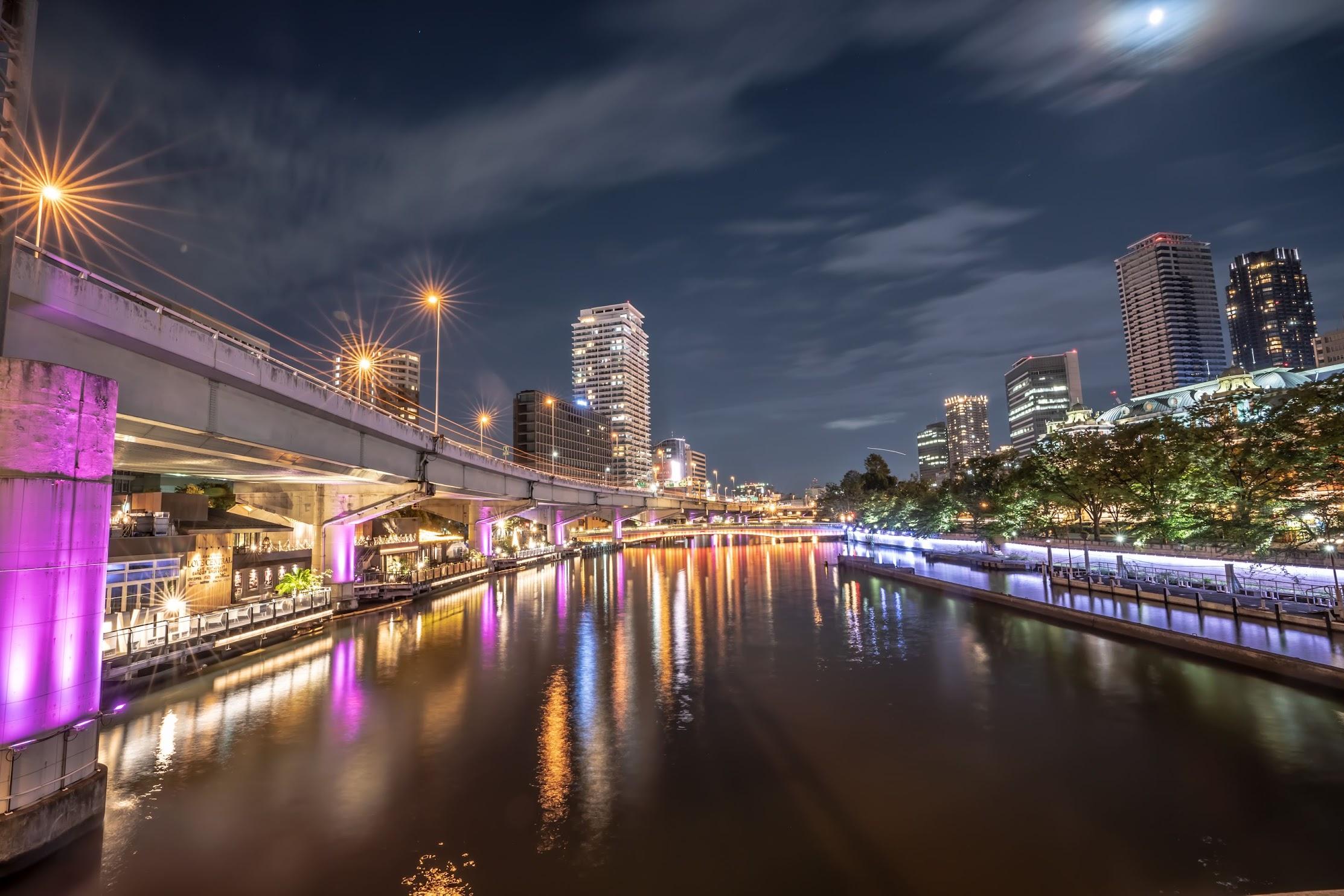 大阪 中之島 夜景5