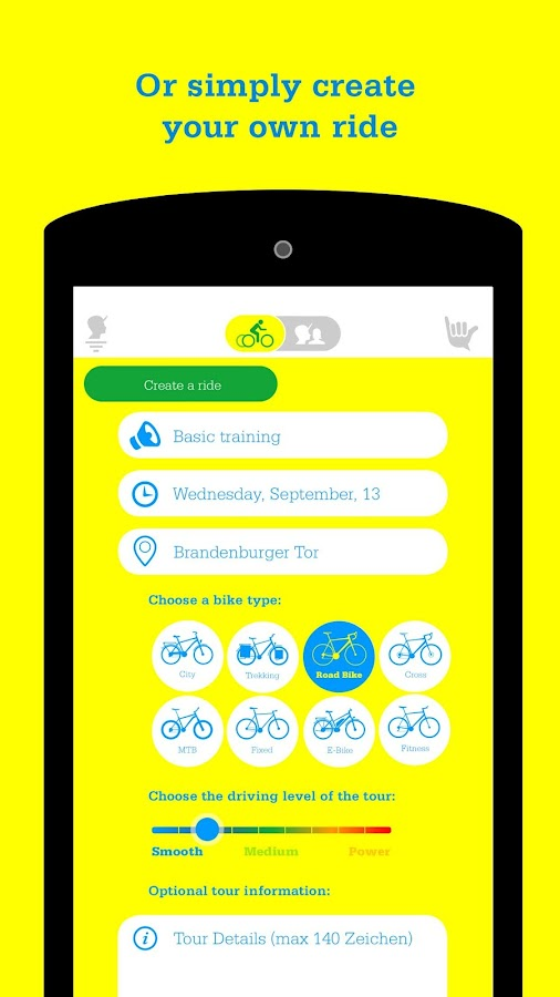 Cyclique. Ride better together- screenshot