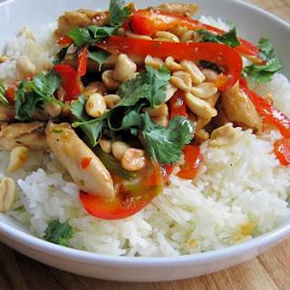 Szechuan Stir-fry with Jasmine Rice - Jamie Oliver.
