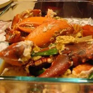 Cantonese Style Lobster.