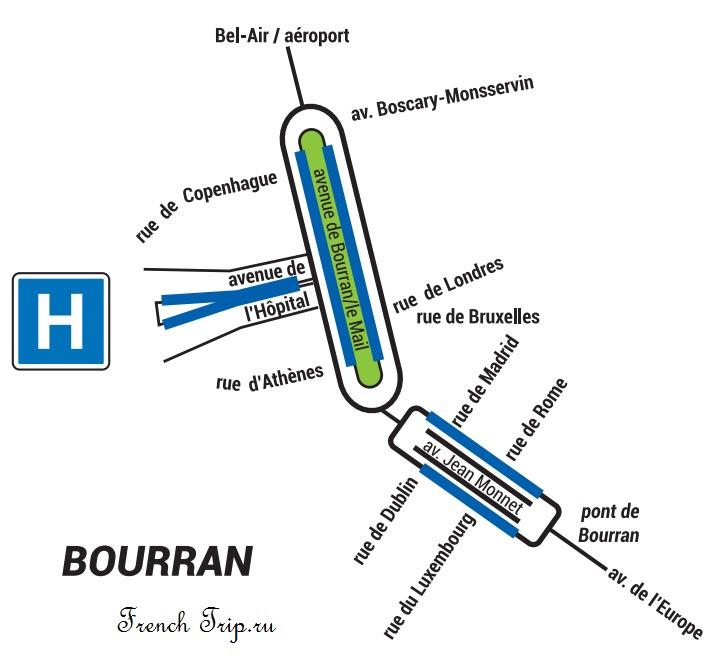 Парковки в Родезе (Rodez), Франция - стоимость парковок
