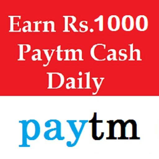 Earn Rs.1000 paytm money daily