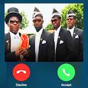 Coffin Dance Calling - Fake Call Prank icon