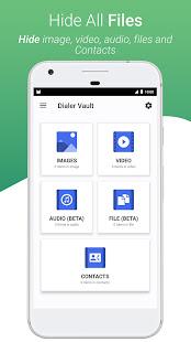 Download Full Dialer Vault - VaultDroid Hide Photo Video OS 10 1.9 APK