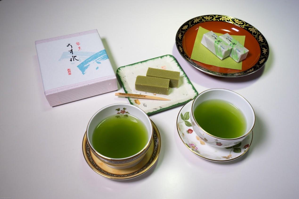 抹茶&和菓子「うす氷」