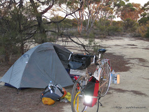 Photo: My camp at Forrestania Plots - The Granite and Woodlands Discovery Trail