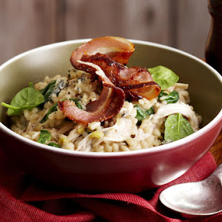 Chicken, Spinach and Blue Cheese Risotto