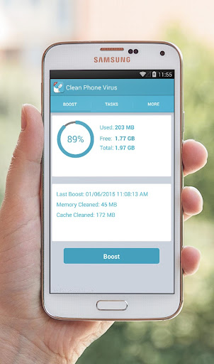 Clean Phone Virus Cache