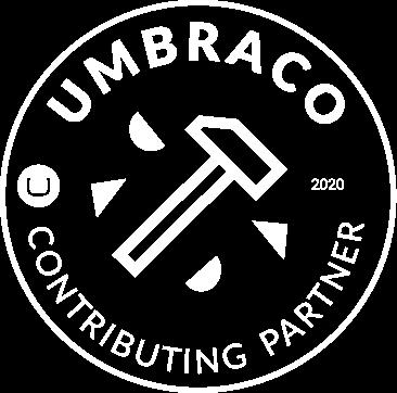 Umbraco contributing gold partner logo