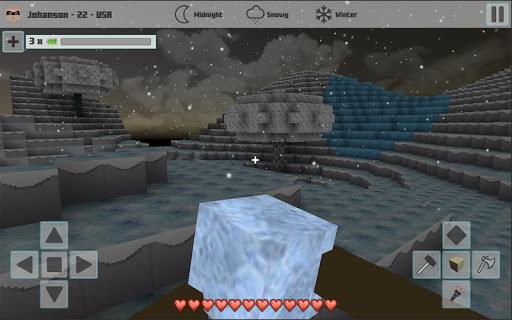 Cubes Craft Winter 1.1 screenshots 6