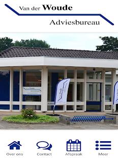 Van der Woude Adviesbureau - náhled
