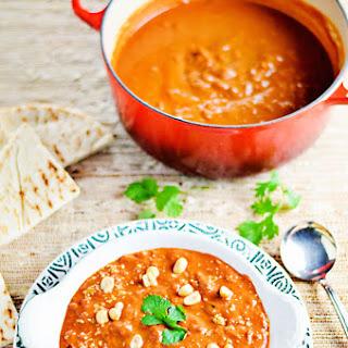 Moroccan Peanut-Tomato Soup