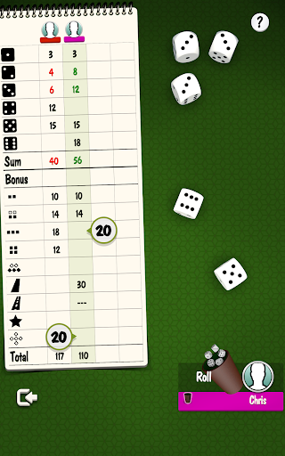 Yatzy Offline and Online - free dice game 3.2.25 screenshots 13