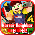 Horror Neighbor Map for MCPE icon