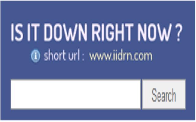 IsItDownRightNow? Extension