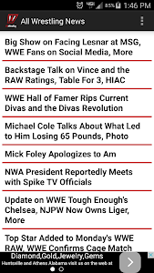 All Wrestling - News screenshot 0