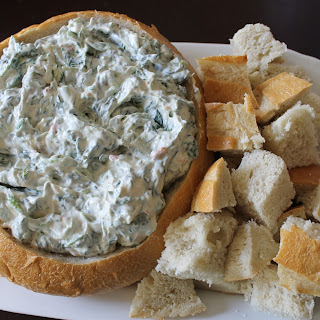 Guilt Free Spinach Dip - Low Cal, Low Fat, High Protein.