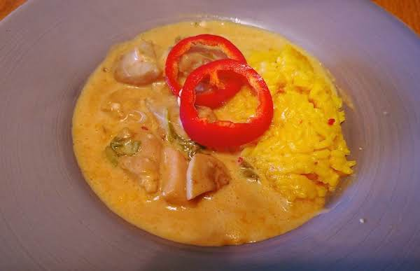 Mexican Creamy Chicken & Mushrooms Over Rice Recipe
