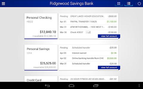 Ridgewood Savings Bank screenshot 5