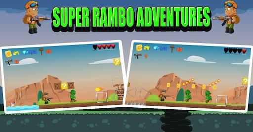 Super Rambo Adventures apkmind screenshots 2