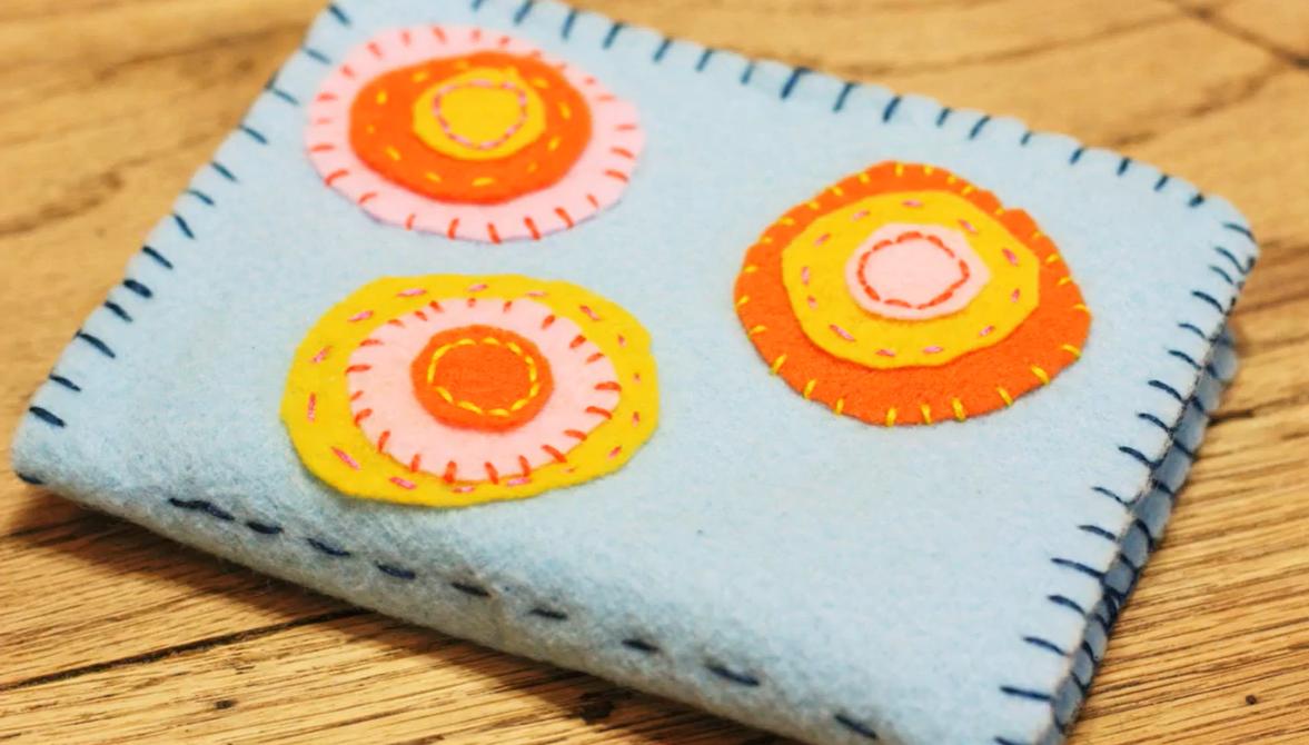 sewn wallet
