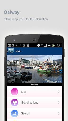 Galway Map offline